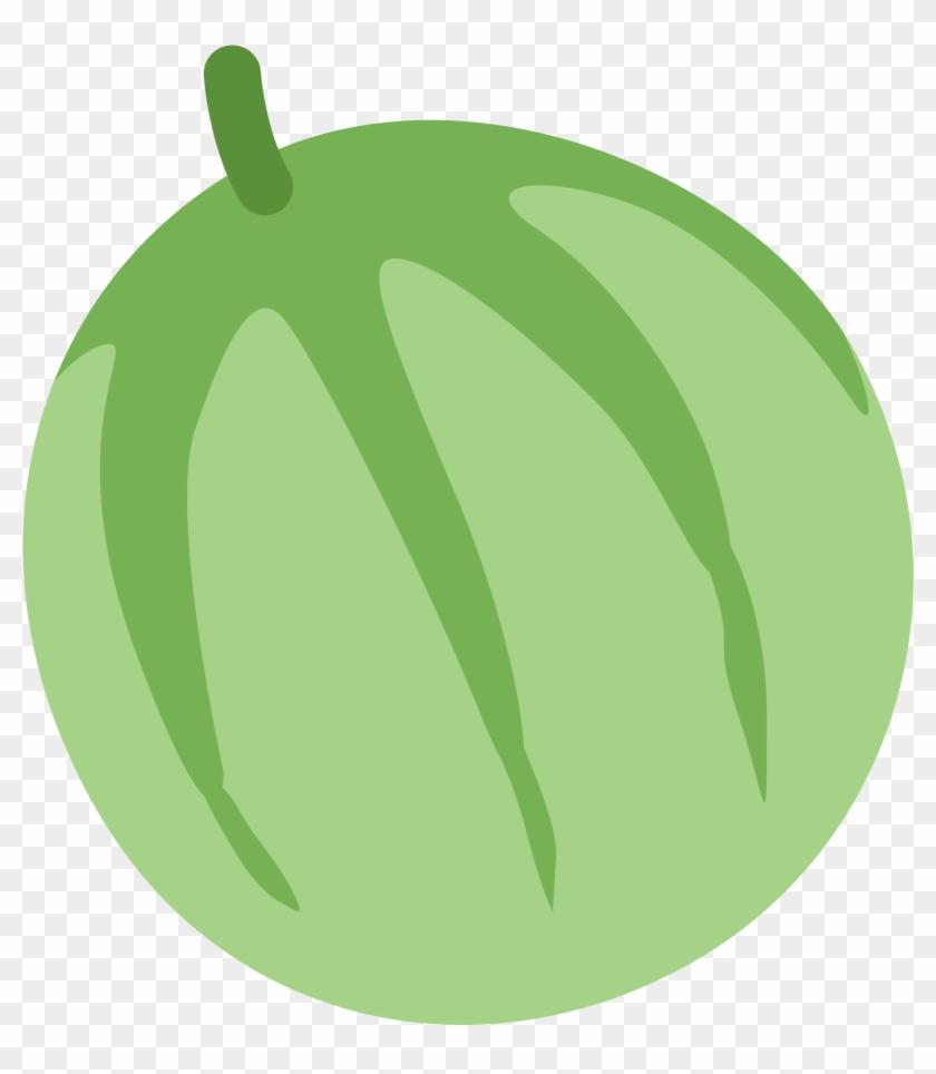 Melon Fruit Emoj Symbol Food Icon Melon Emoji Free