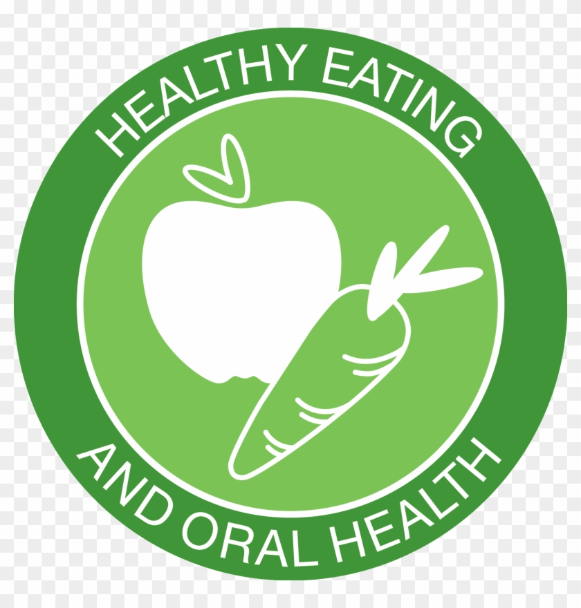 health food icon healthy eating and oral health free
