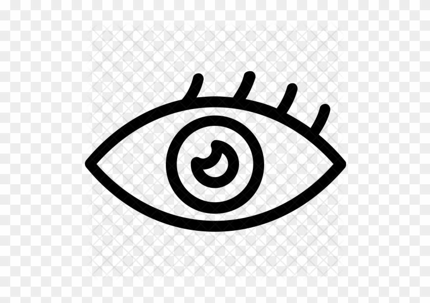 Eye Icon - Human Eye #1005868