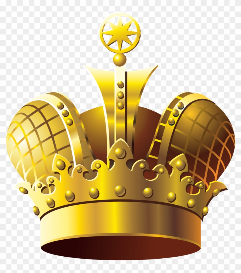 Golden Crown Png Clipart - Need Image Of Golden Crown #1005922
