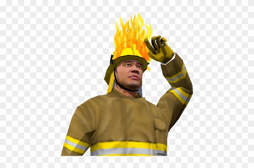 Пожарный гифка