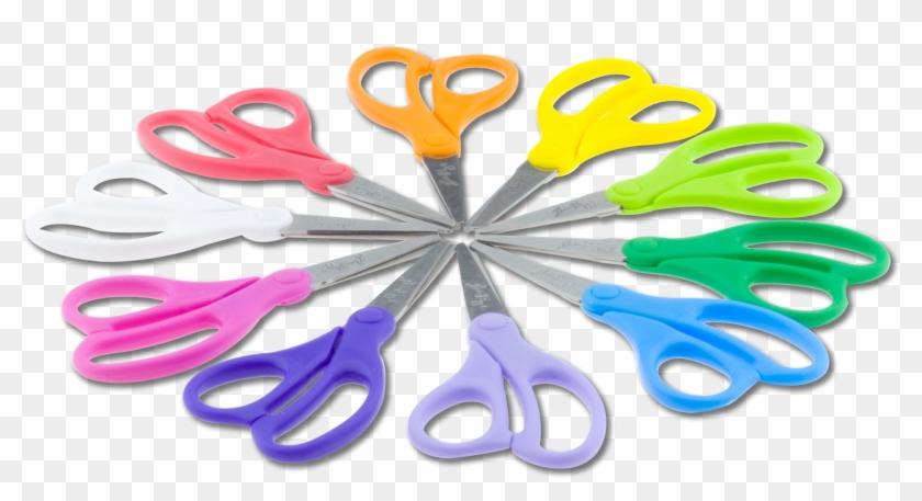 """Natural-fit Children's Scissors 5"""" Blunt Tip 10 - Whisk #1006191"""