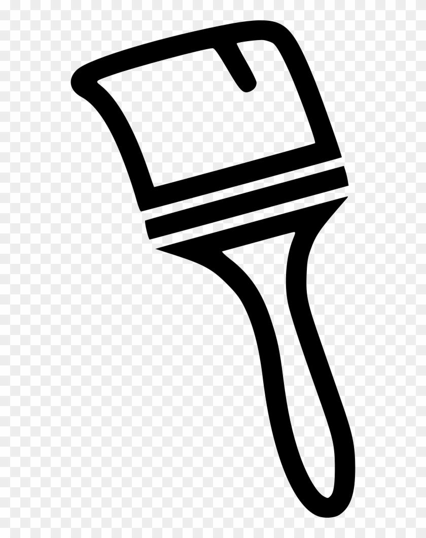 Thick Paint Brush Comments - Paintbrush #1006414