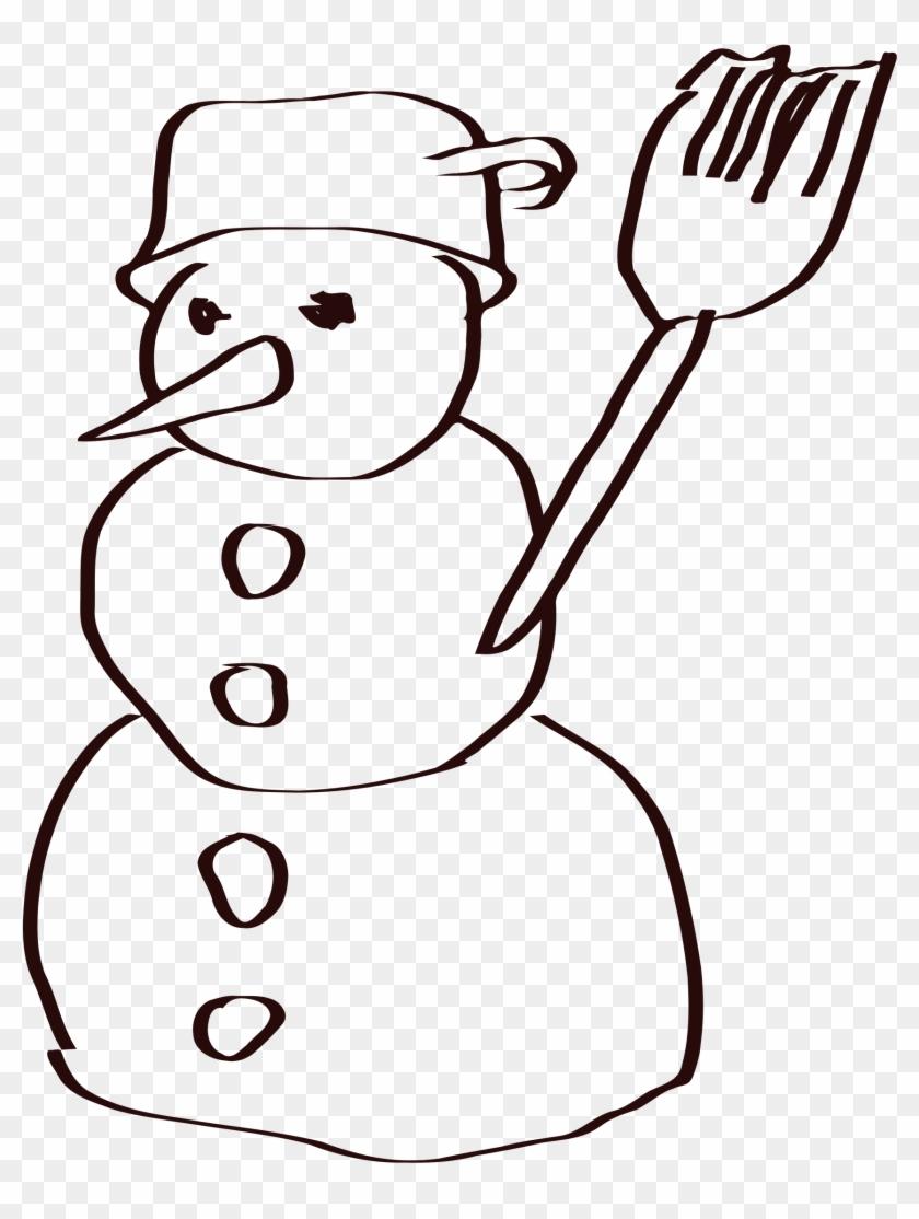 Big Image - Snow Man Sketch #1006588