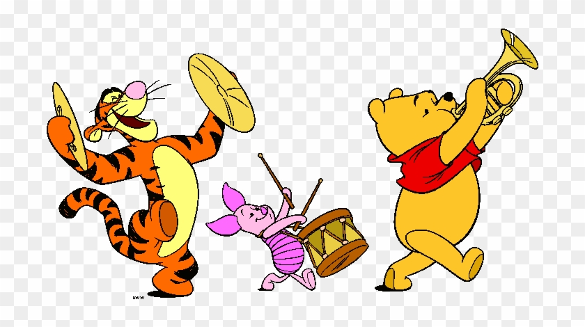 Winnie The Pooh And Friends Clipart - Just Passing By To Say Hello #1006623