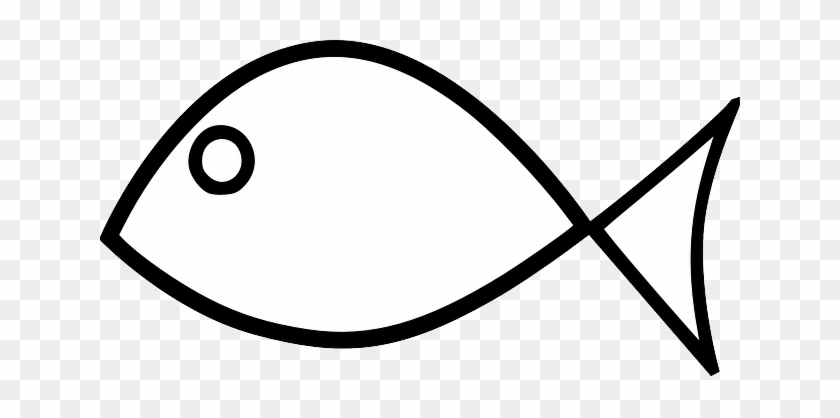 Simple Fish, Animal, Jesus, Simple - Easy Fish Coloring Pages #1006692