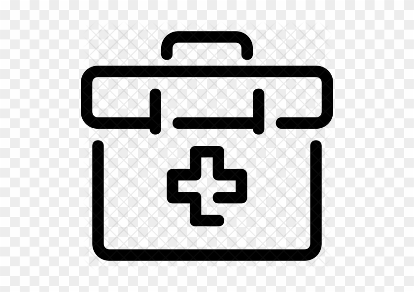 First-aid Kit Icon - Medical Clipboard Icon #1007065