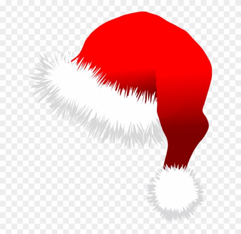 Santa Hat Clipart Minecraft Christmas - Merry Christmas Hat Cartoon #1007506