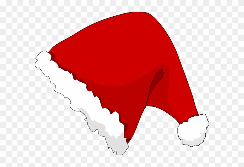 Santa Hat Clipart - Cartoon Santa Hat Transparent #1007510