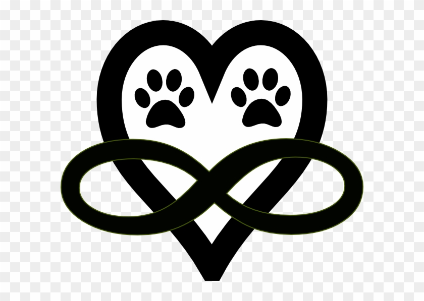 Infinity Heart Paw Print Free Transparent Png Clipart Images Download 4,800 transparent png illustrations and cipart matching dog paw. infinity heart paw print free