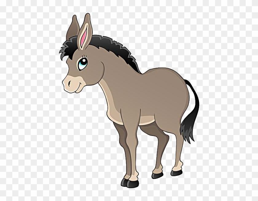 Donkey clipart. Free download transparent .PNG   Creazilla