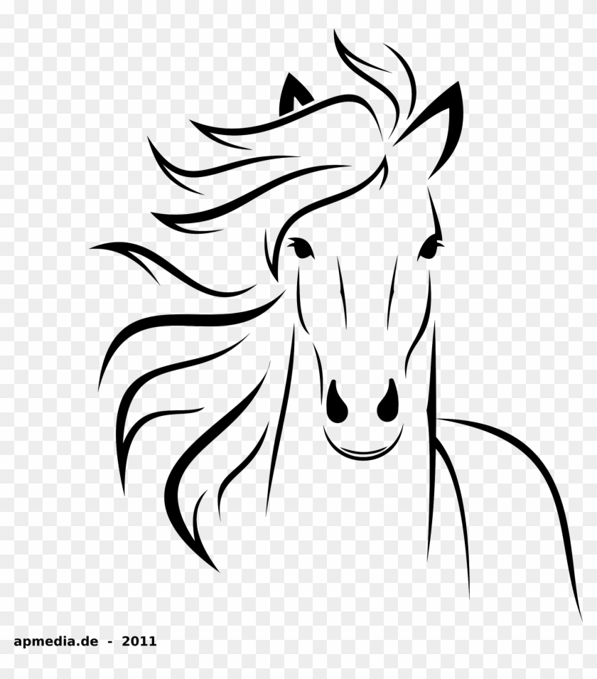 28 Collection Of Horse Drawing Png Easy To Draw Horse Free