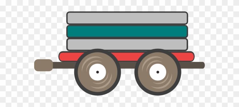 Loco Train Car Clip Art At Clker - Train Car Clipart Large #1007966