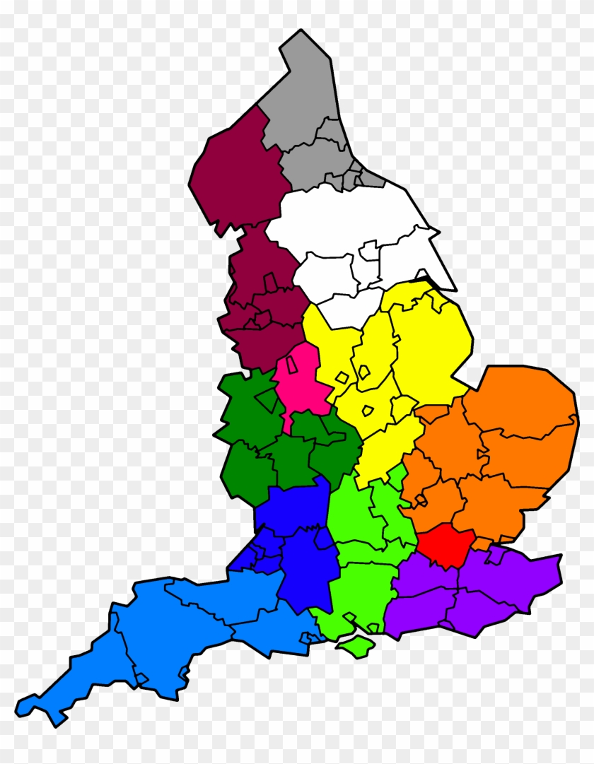 Ambulance Services In England Map Uk Population Choropleth Map