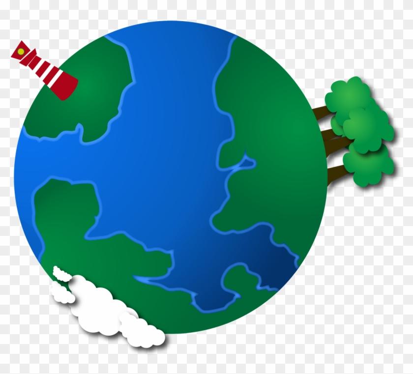 Planet Earth Graphic - Aeroplane Around The World #1008472