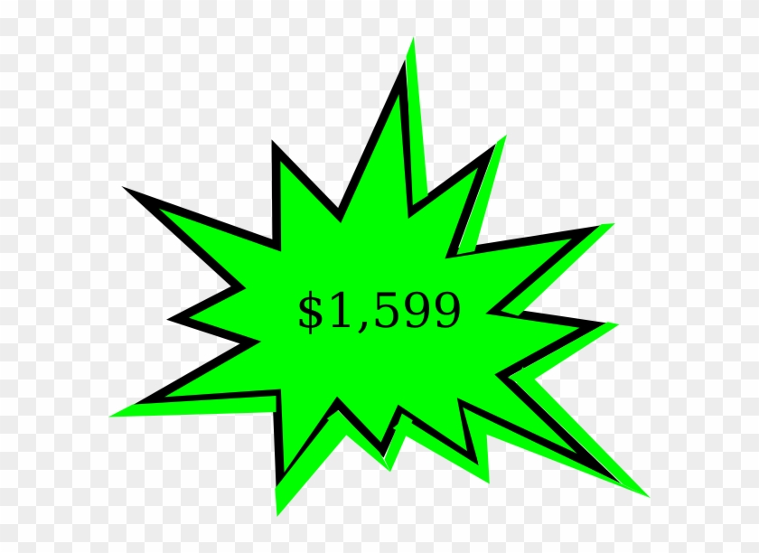 Free Starburst Clip Art At Vector Clip Art - Comic Book Star Thing #1008547