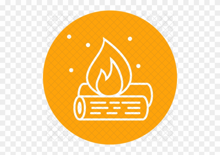 Campfire Icon Png - Camp Fire Icon #1008993