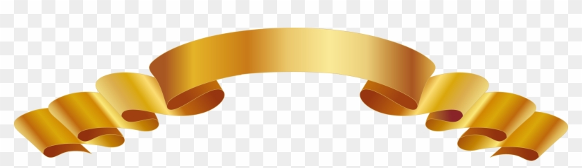 Euclidean Vector Download Ribbon - Ribbon Vector Gold Png #1009086