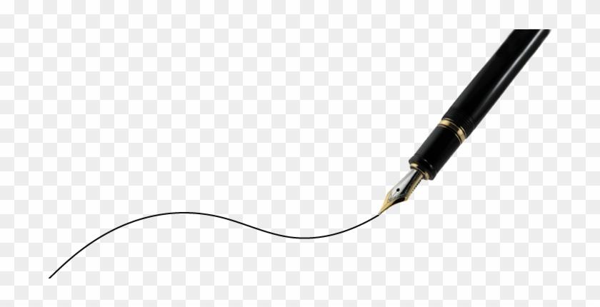 Pen Writing A Line #1009190