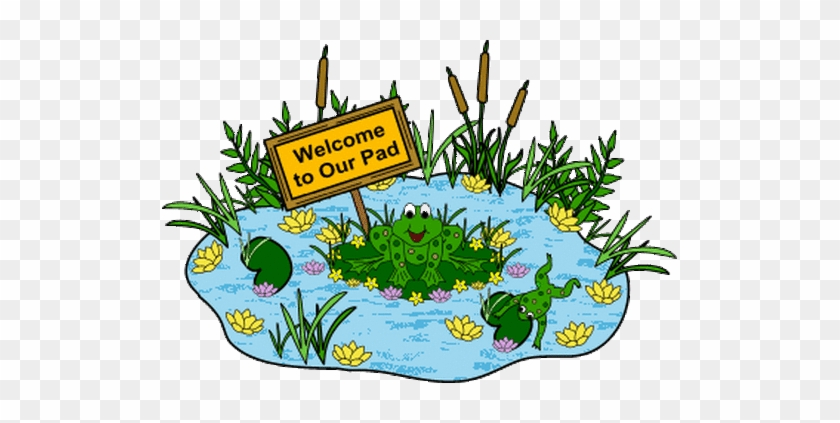 Lily Pad Clipart Background - Back To School Bulletin Boards #1009420