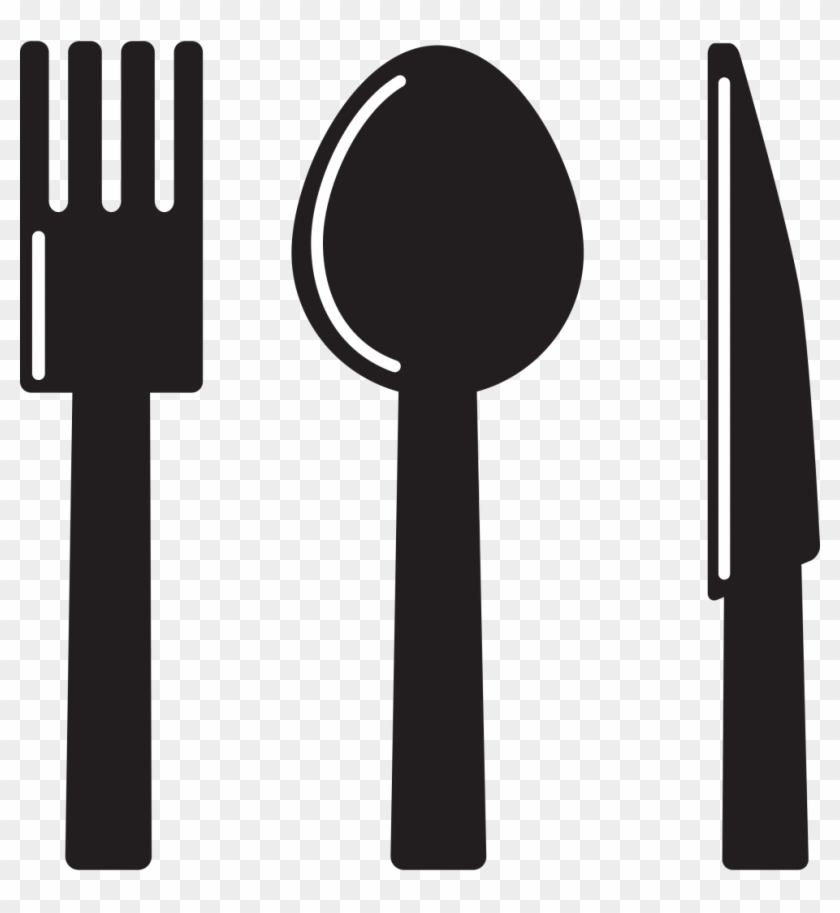 Clipart Kitchen Icon Knife Spoon Fork Clipart - Spoon & Fork Clip Art #1009419