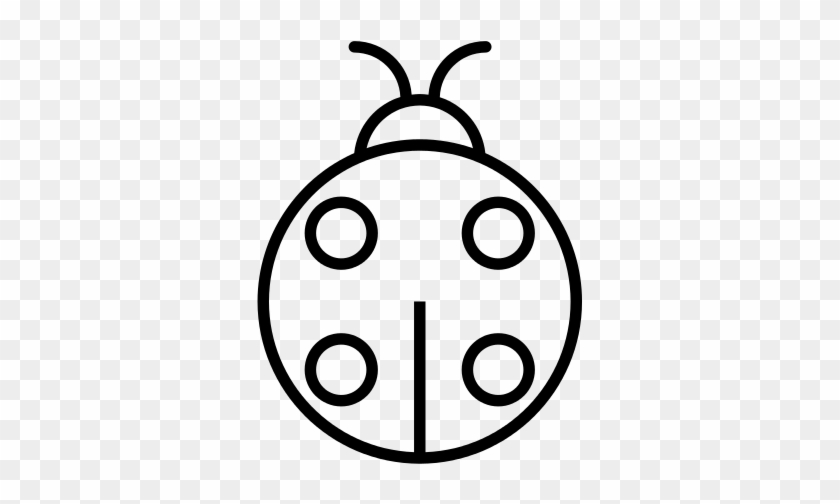 Ladybug Icon Desenho De Joaninha Para Colorir Free Transparent