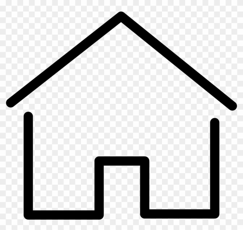 Simple House Thin Comments Dessins Maison Free Transparent Png Clipart Images Download