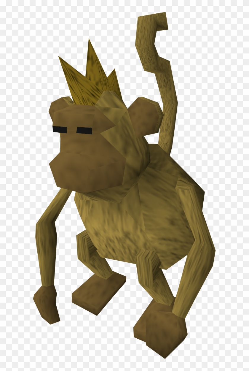 Monkey - Old School Runescape Monkey - Free Transparent PNG Clipart