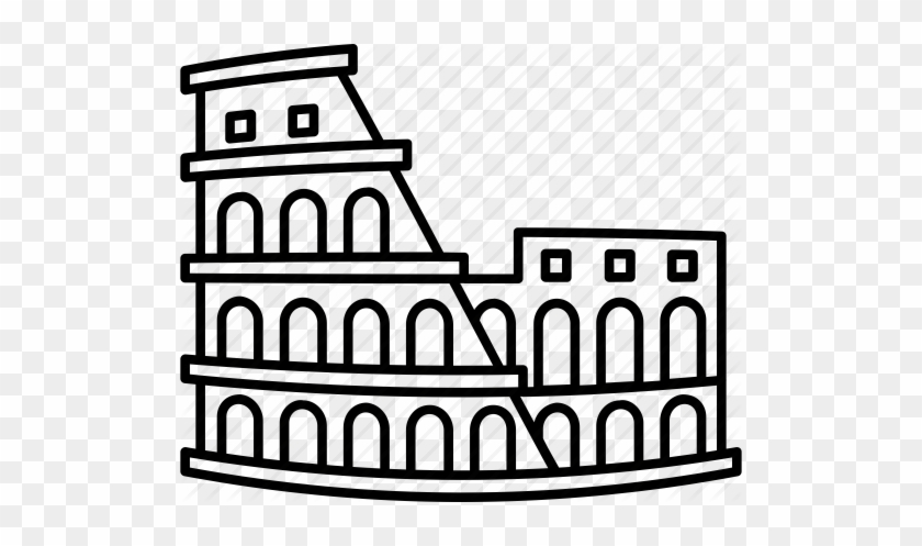 High Quality, Detailed Most Famous World Landmark - Rome