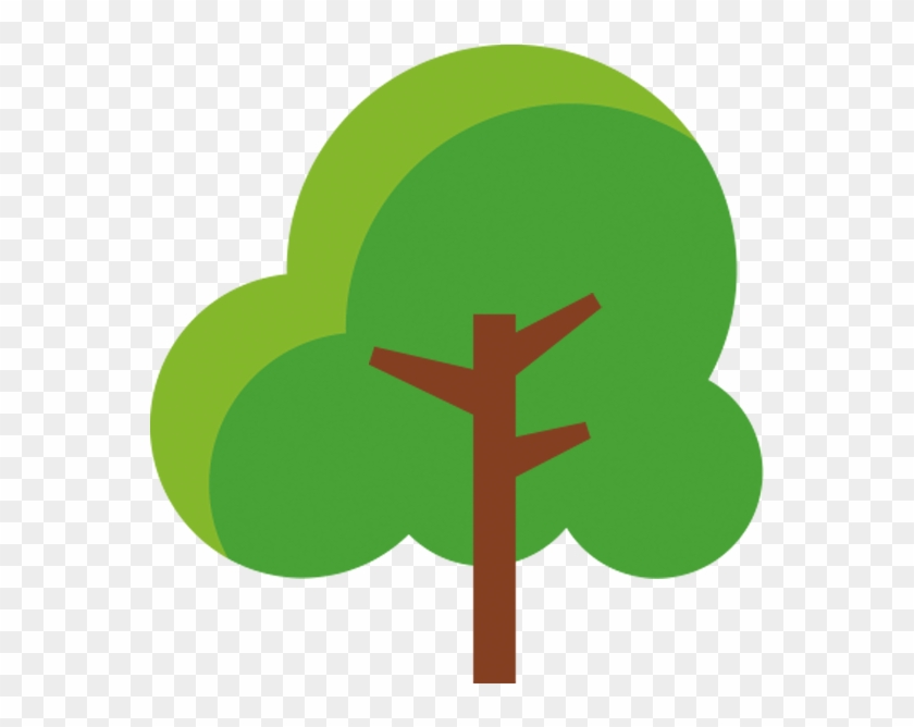 Cartoon Lush Trees - Simple Cartoon Trees Png #1011458