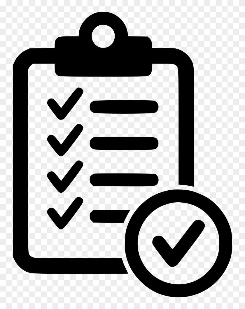 checklist comments - form approved icon - free transparent png