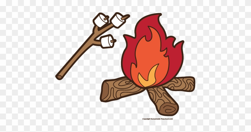 Click To Save Image - Fire Camping Clip Art #1012635