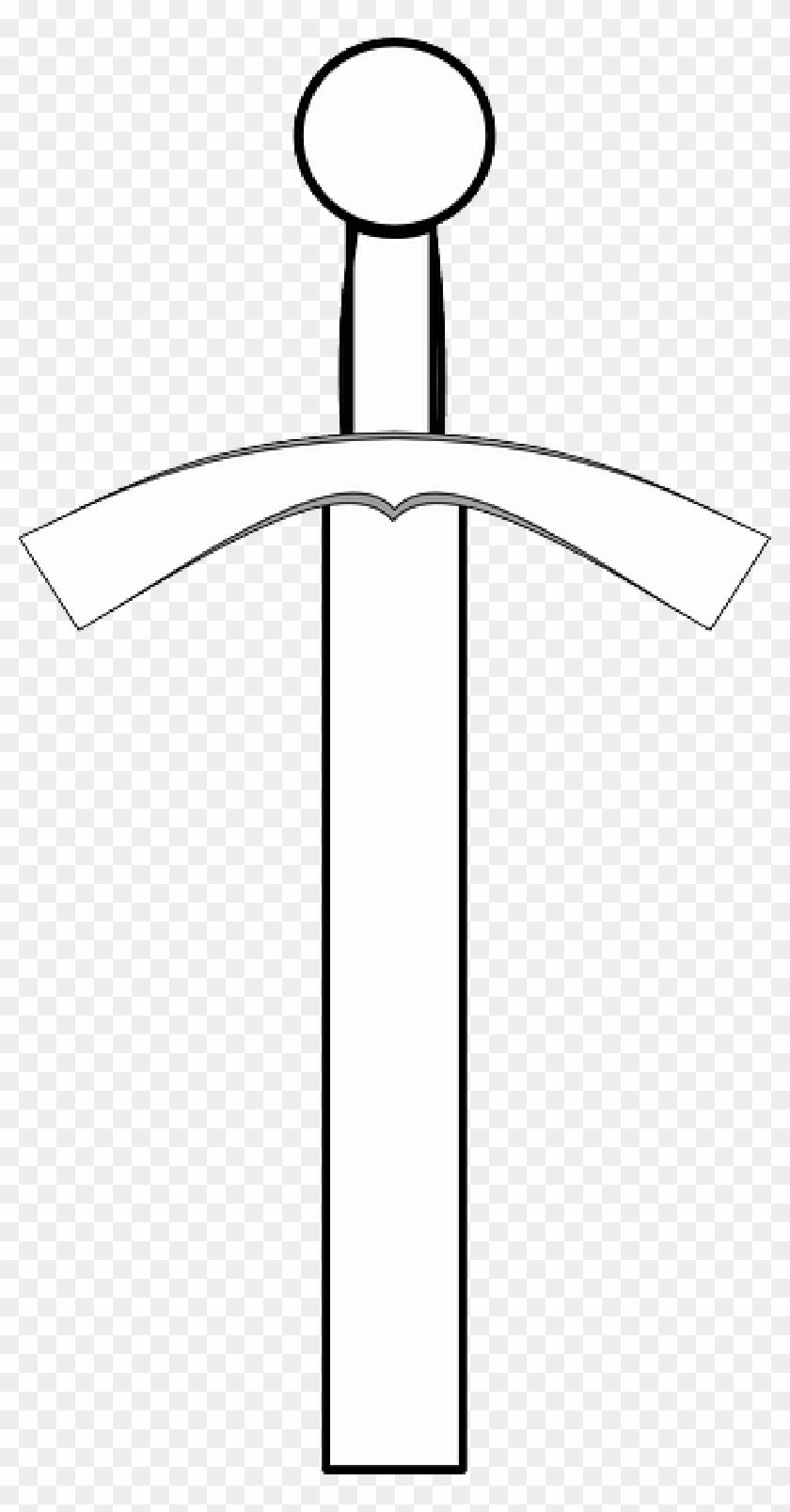trojan sword clipart outline - 670×1280