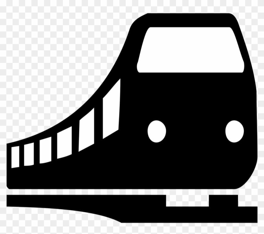 Train Logo Train Logo Black White Free Transparent Png Clipart