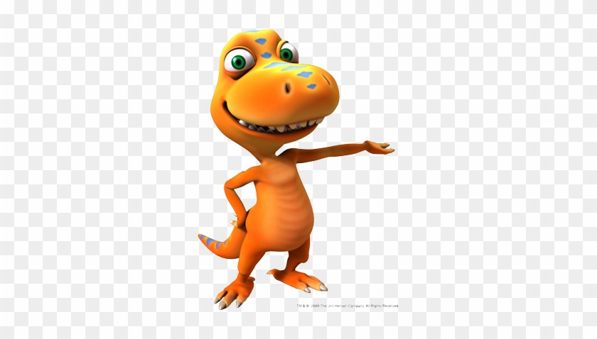 Railroad - Buddy - Orange Dinosaur On Dinosaur Train #1013716