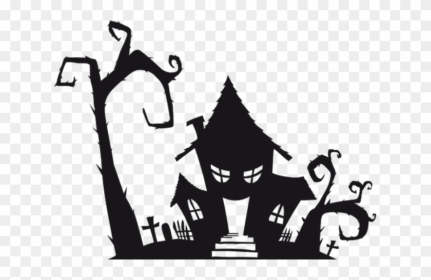 Haunted House Halloween Free Transparent Png Clipart Images Download