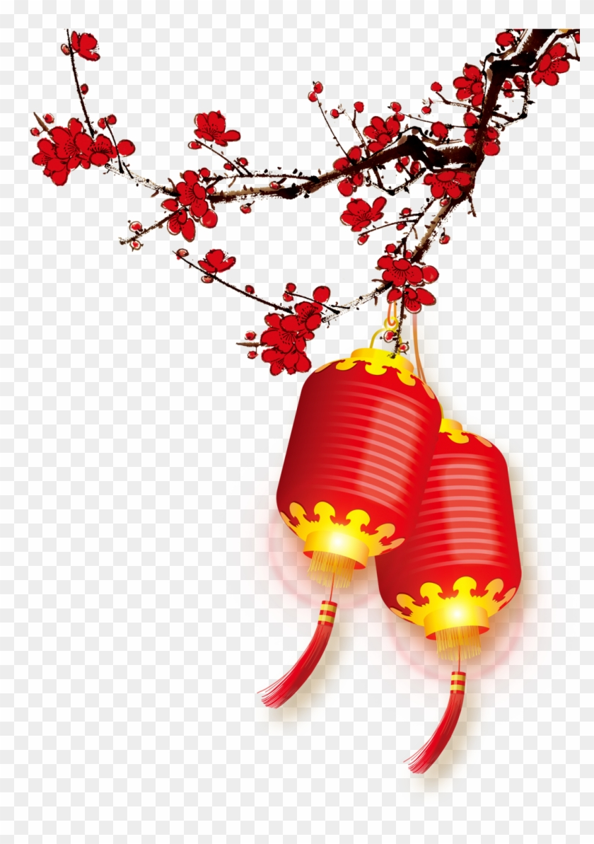 Chinese New Year New Year's Day Christmas - Chinese New Year Background Pattern #1014693