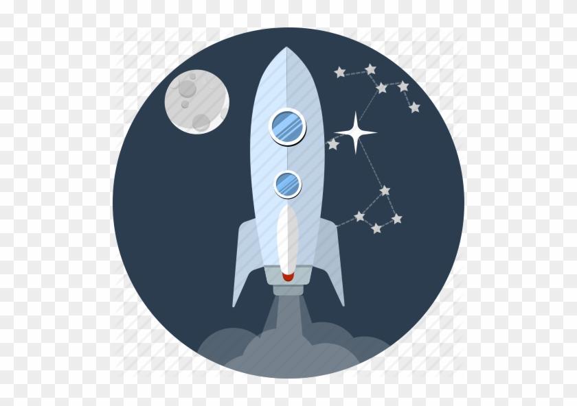 Booster, Energy, Launch, Moon, Rocketship, Space, Spaceship - Rocket #1015339