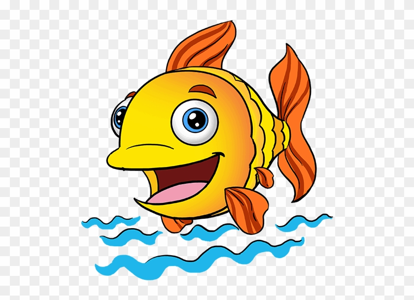 Cute Little Fish Lovely Small Cartoon Png And Vector Fish Cartoon Free Transparent Png Clipart Images Download