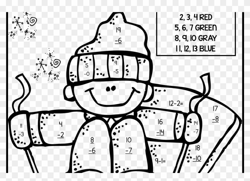 2nd Grade Coloring Pages Math Fall Fraction Christmas - 2nd ...