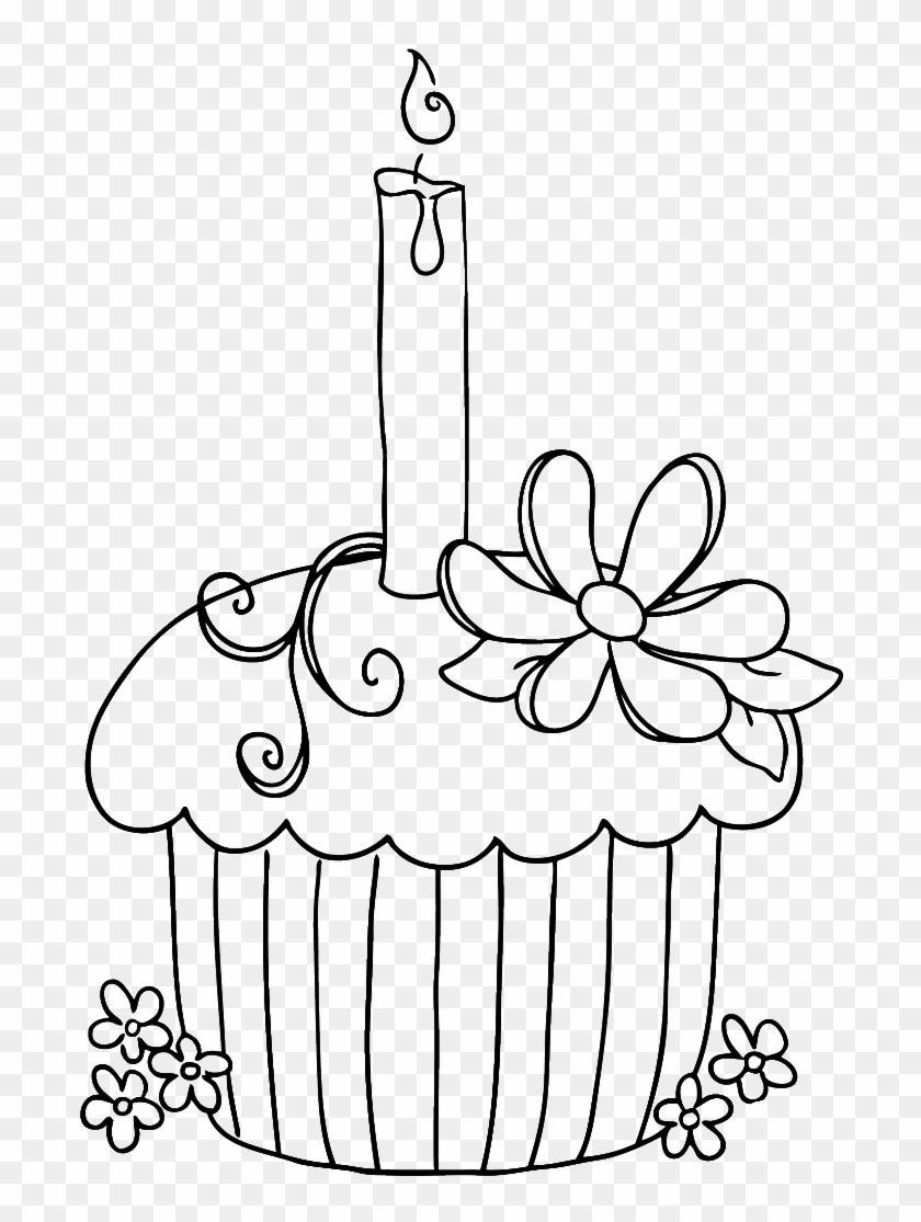 Cupcake Coloring Pages - GetColoringPages.com | 1115x840