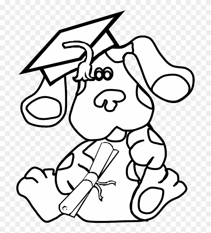 Blues Clues Christmas Coloring Pages Blues Clues Coloring Pages