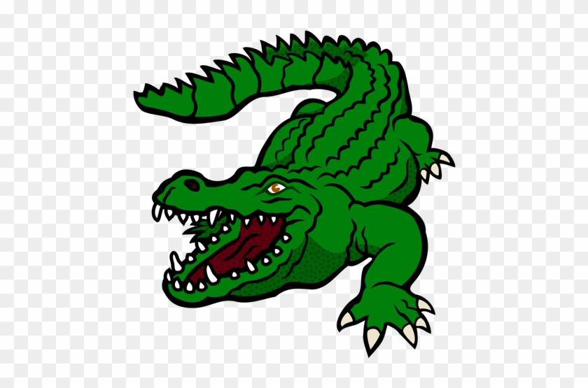 Buaya Hijau - Clip Art Crocodile #1016735