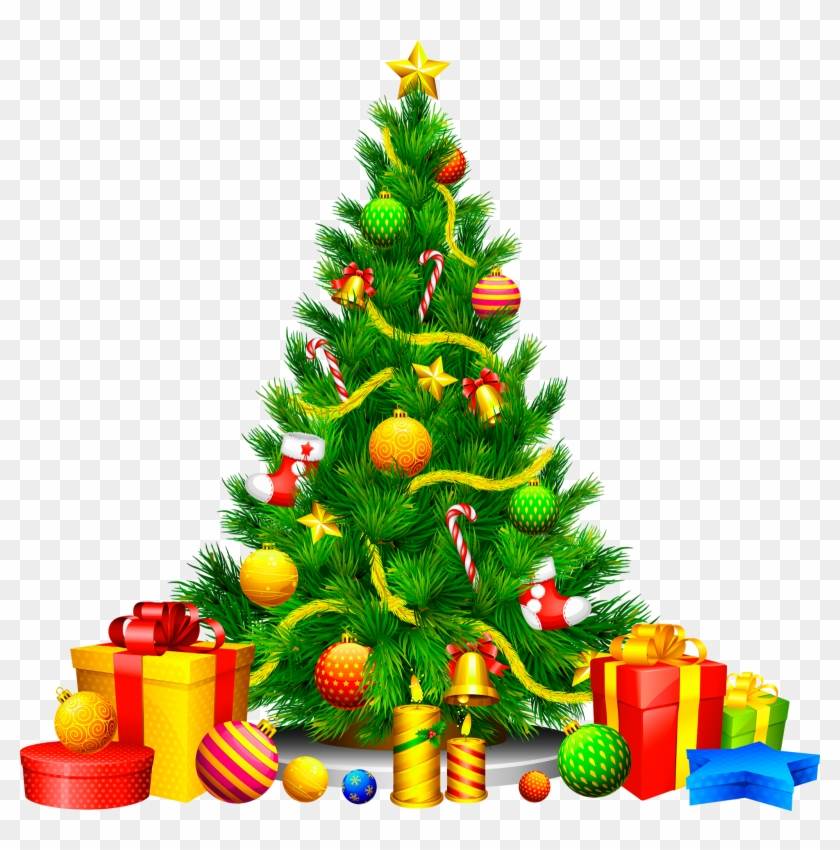 Merry Christmas Tree Png Free Transparent Png Clipart Images Download