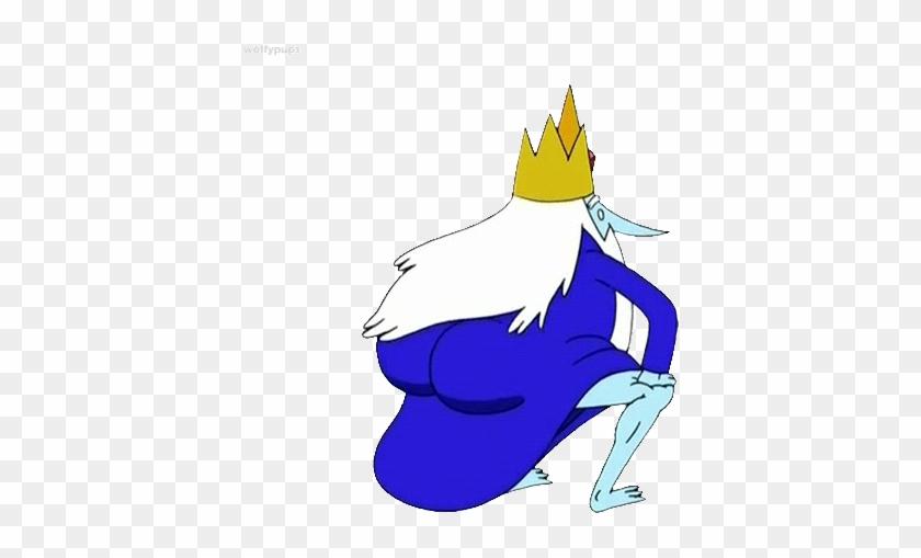 Icekingtwerk - Adventure Time Ice King Butt #1017066