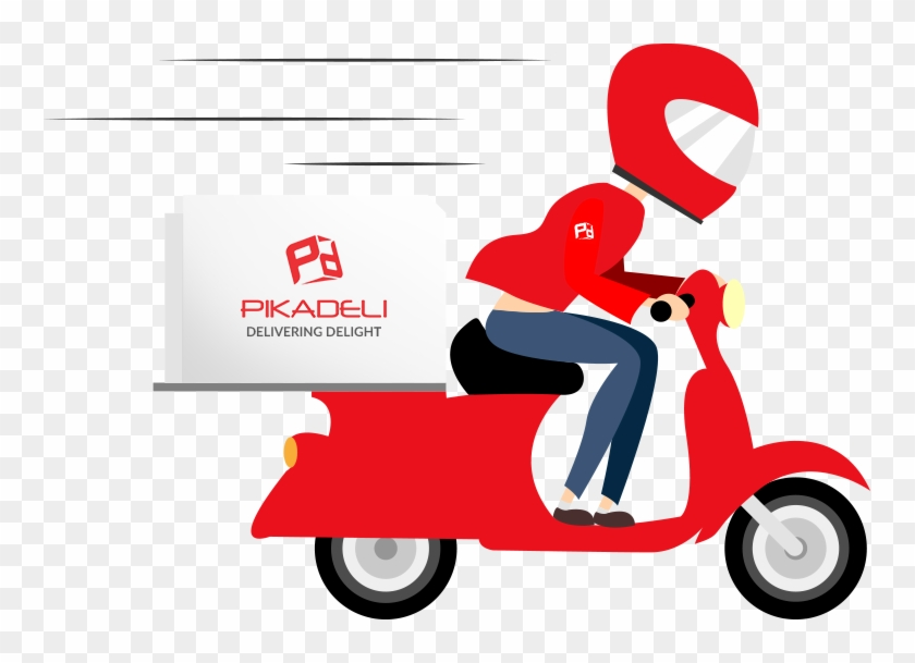 A Local Food Pickup And Delivery Service For Restaurants - Fast Delivery Vector #1017520