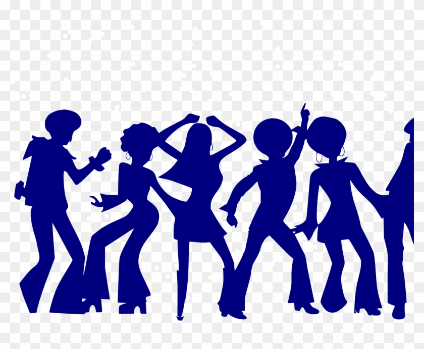 Dance Party Disco Clip Art - Dancing Through The Decades #1017642