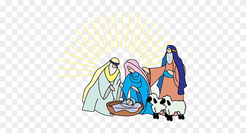 Christmas Clip Art Nativity - Clip Art Nativity #1017726
