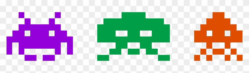 Space Invaders 3d Pixel Art - Space Invaders Pixel Art #1018312