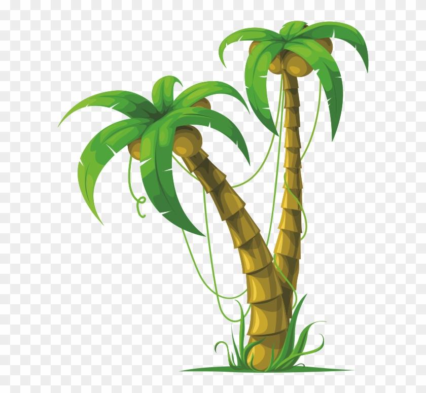 Planta De Coco Para Pintar arboles41gif 512×737 ARBLES DE COCO ...